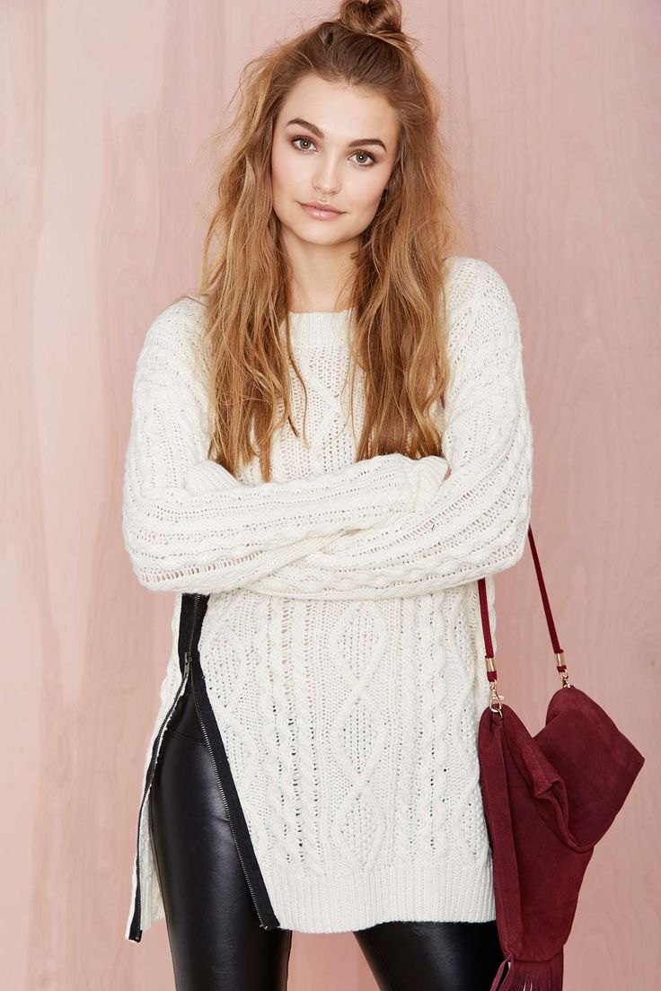 Zip It Up Sweater | Shop Fall Of The Wild at Nasty Gal