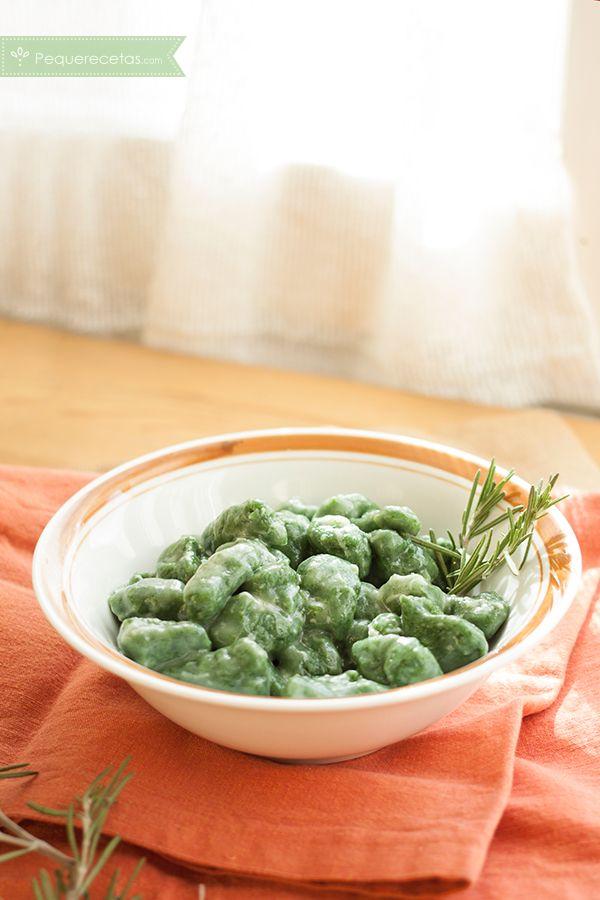 Ñoquis de espinacas, una receta casera que enamora