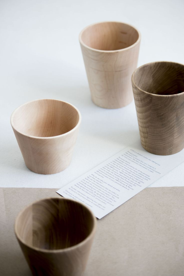 Small Straight Cup, Large Straight Cup