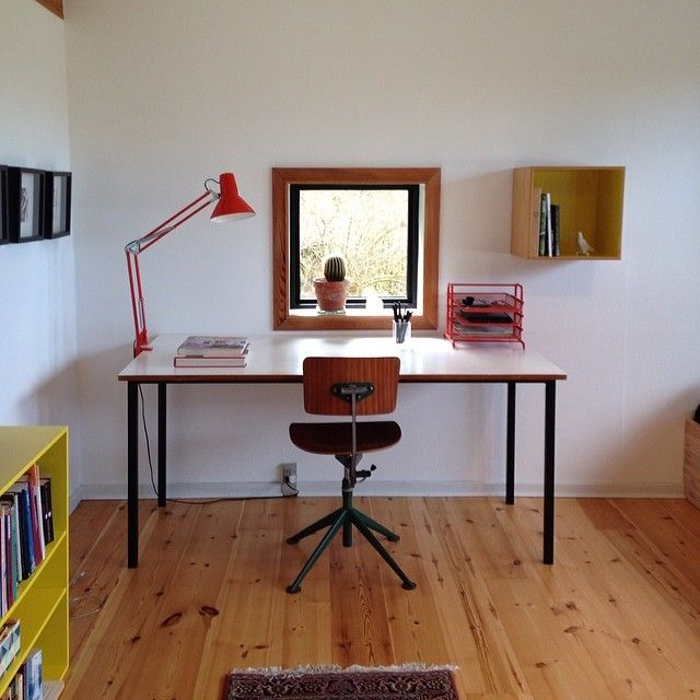 #ourhouse #danishdesign #homeoffice #kevi