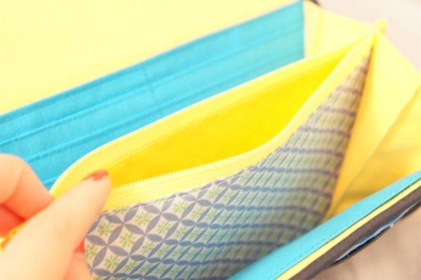 ordermade wallet dot:inside #handmade #wallet #ordermade #sewing