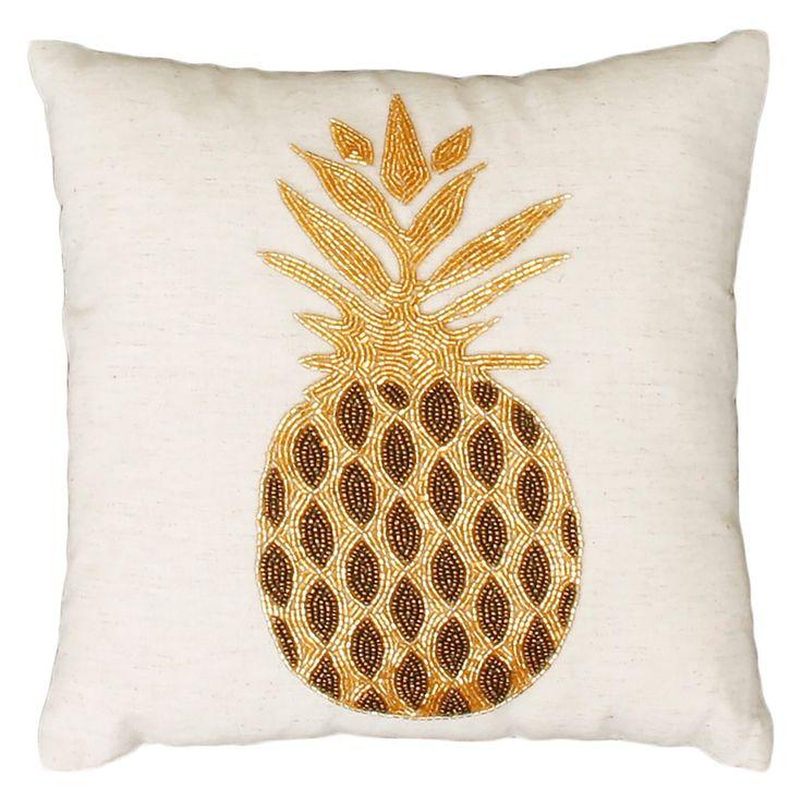 Thro By Marlo Lorenz Gold Paulina Pineapple Square Beaded