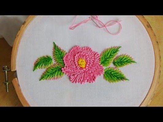 Hand Embroidery: Flower stitch