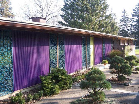 On the market: 1950s Charles Goodman-designed Alcoa Aluminum House in Rochester, New York State, USA