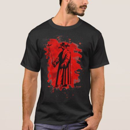 Doc beak - Plague doctor - bleached talk T-Shirt - click to get yours right now!