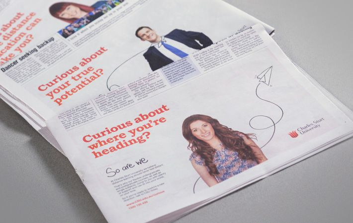 CSU newspaper advertisement