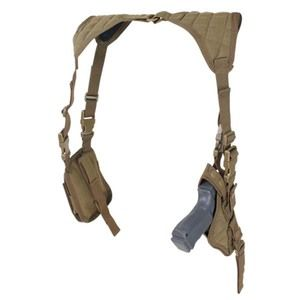The Condor Vertical Shoulder Holster fits most medium to large frame pistols and is designed for left and right hand usage. Click to order now!