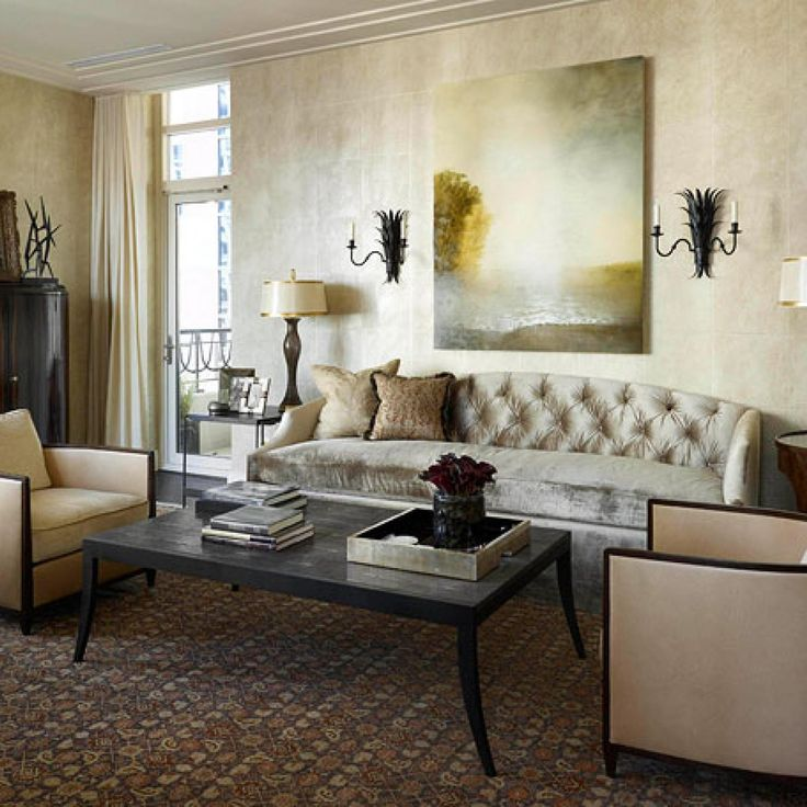 living room showcase designs%0A Designer Frank Ponterio of Frank Ponterio Interior Design featured Grecian  Squares      Olympus Linen at Simply Magnificent  A Showcase of Homes