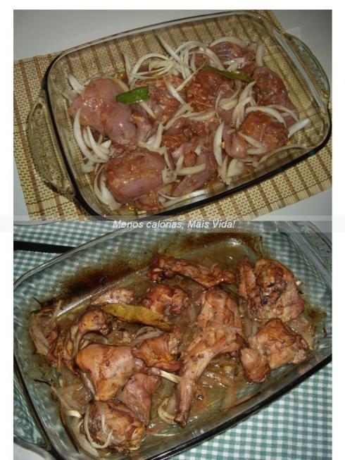 Coelhinho assado no forno
