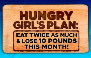Dr Oz's show today about Hungry Girl was great and suprizingly easy to do...
