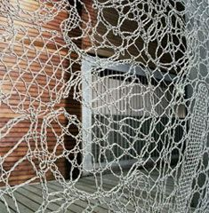 """""""The Lace Fence designed by Demakersvan is a security fence unique in its design by its craft and assembled patterns. The patterns come in a variety of themes, showing how something which was meant purely functional can also be decorative."""""""