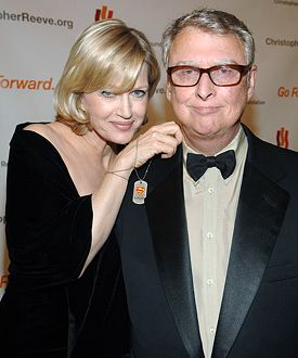 Mike Nichols and Diane Sawyer   Two very special people, condolences abound (11-19-2014). RIP Mike Nichols.