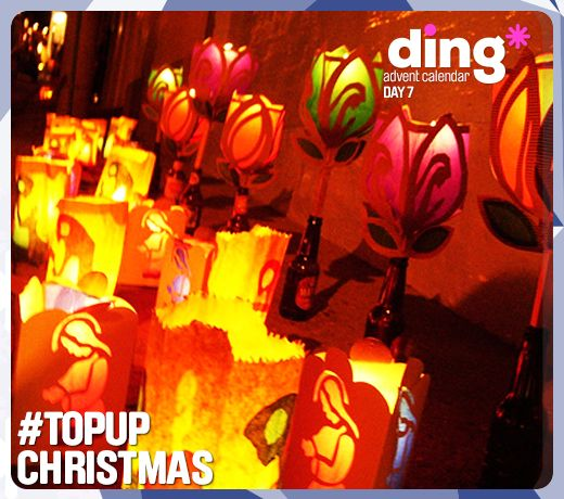 Its Day 7 of our ding* #Christmas Advent Calendar!  #dingworld - On this day, Colombia Celebrates Day of the  Little Candles. Isn't it beautiful? https://www.ding.com/