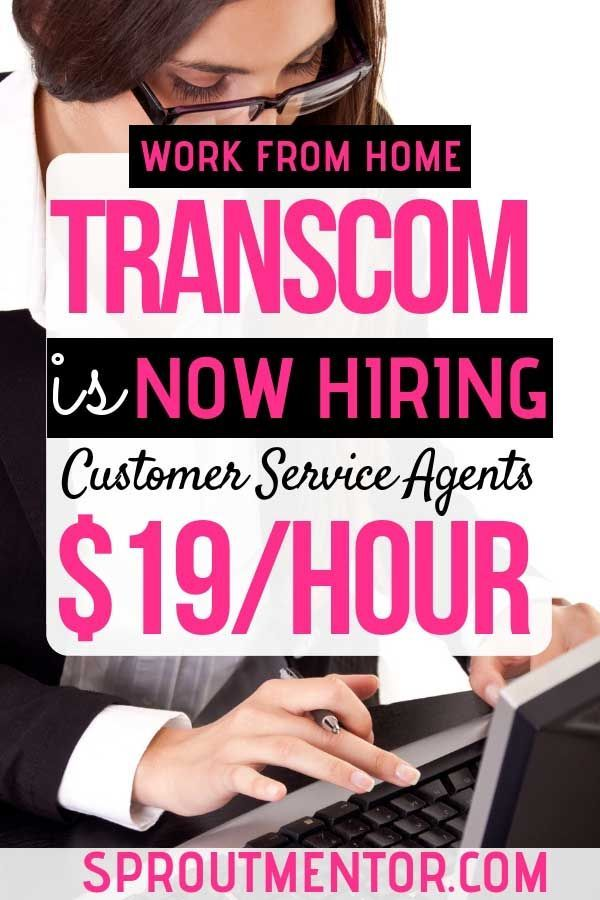 Transcom Is Now Hiring Work From Home Customer Service Agents