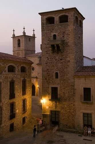 Palacio de los Golfines, Cáceres, España