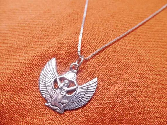 Hey, I found this really awesome Etsy listing at https://www.etsy.com/listing/237389598/charming-authentic-egyptian-sterling