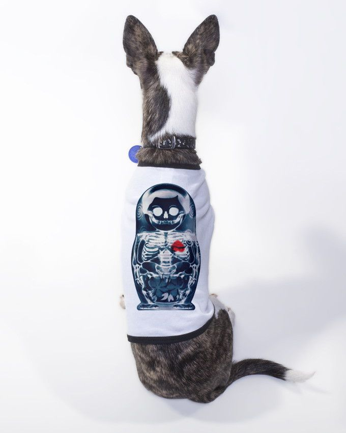 Nesting Doll Dog T-Shirt By Ali Gulec – ikiiki