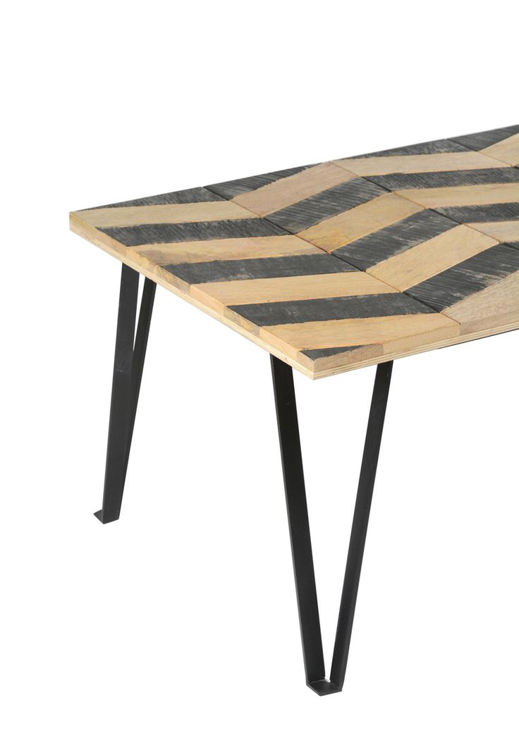 Matrix Parquet Coffee Table - Sheesham Rosewood additional view #1