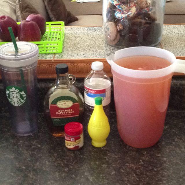 4 days lemonade diet challenge! #lordhelpme
