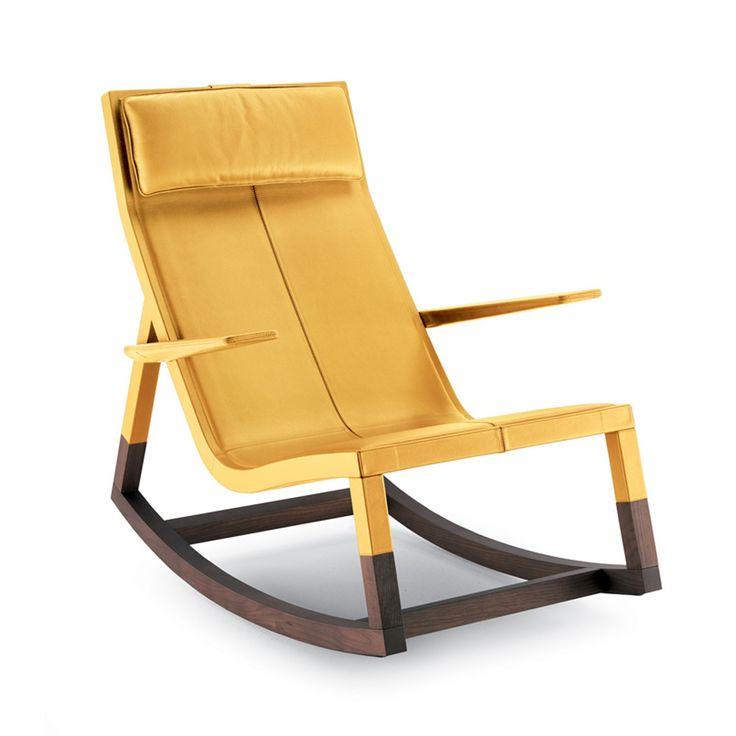Gelben Stühlen, Moderner Klassiker, Schaukelstühle, Lounge Stühle, Möbel  Stühle, Unkonventionellem, Möbel Ideen, Modernes Design, Sessel