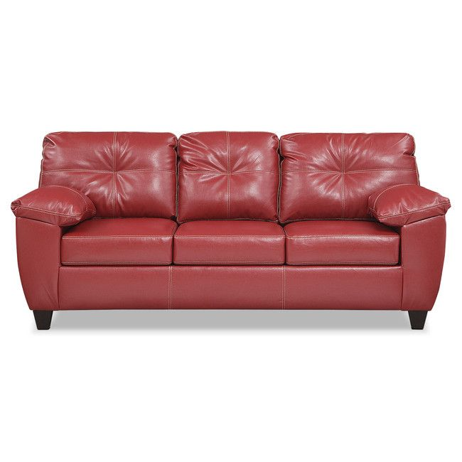 Ricardo Sofa - Cardinal | Value City Furniture