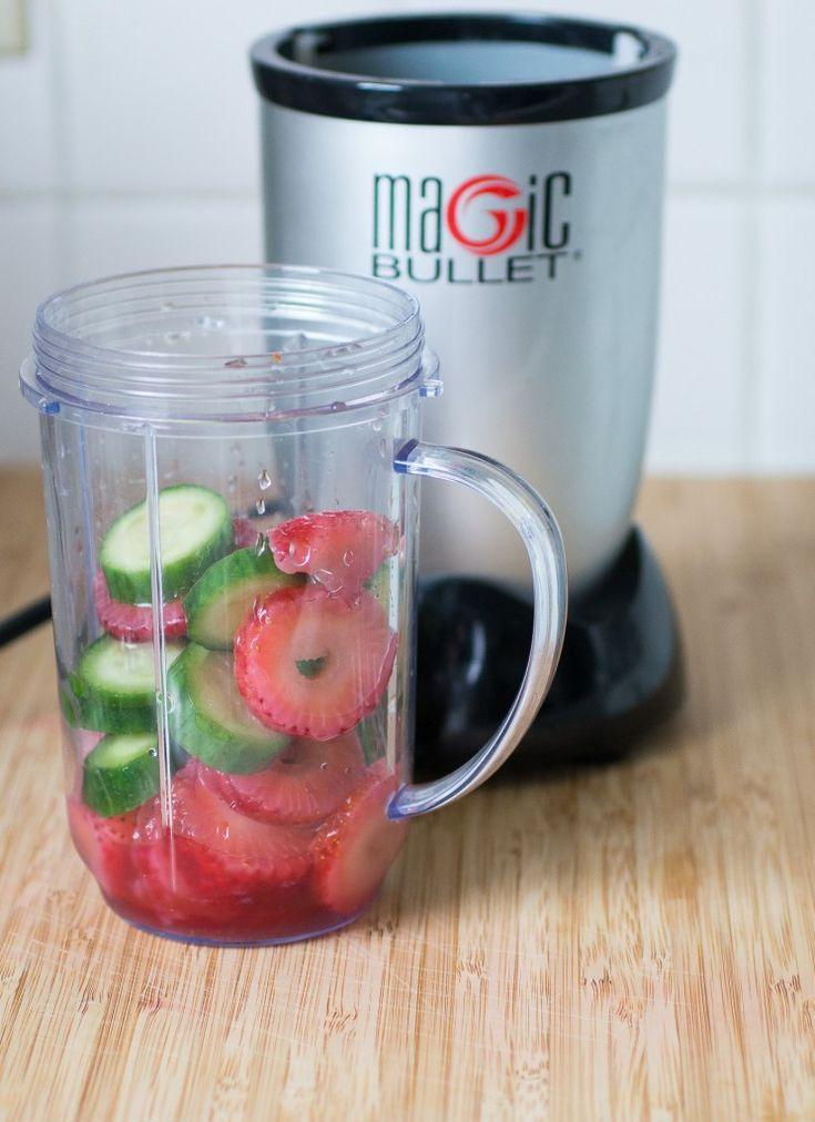 Strawberry Cucumber Smoothie : Magic Bullet Blog