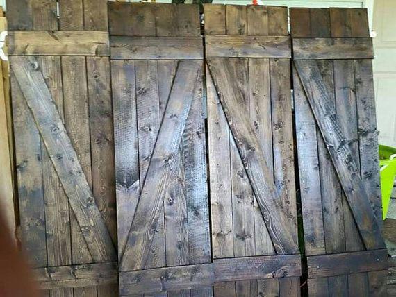 1000 Ideas About Rustic Interior Shutters On Pinterest Rustic Window Treatments Farm Kitchen