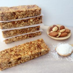 Chewy Coconut Oat Bars