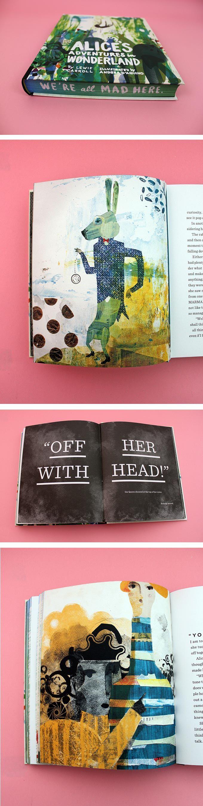 Andrea D'Aquino puts a contemporary spin on 'Alice's Adventures in Wonderland'