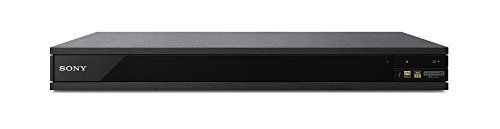 Sony UBP-X800 4K Ultra HD Blu-ray Player (2017 Model) - Come home to a more immersive experience with 4K HDR playback and the amazing realism of Dolby Atmos surround sound, plus the incredible detail of Hi-Res Audio. Built for optimum video and audio performance, this universal UHD player plays almost any format, including 4K HDR streaming, and even s...