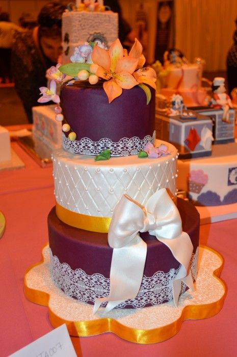 Madrid Fashion Cake 2014: Concurso Tartas Wilton