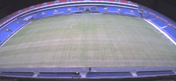 Ullevaal is free for snow and ice soon ready for the new season.