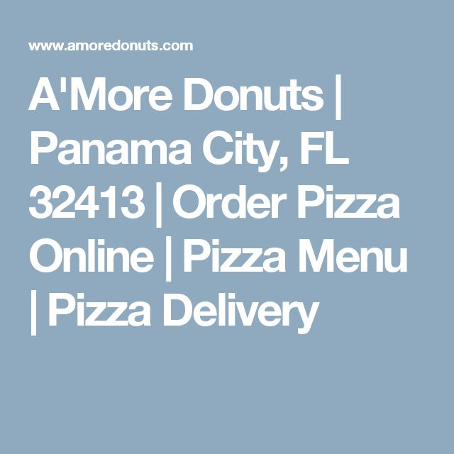 A'More Donuts | Panama City, FL 32413 | Order Pizza Online | Pizza Menu | Pizza Delivery