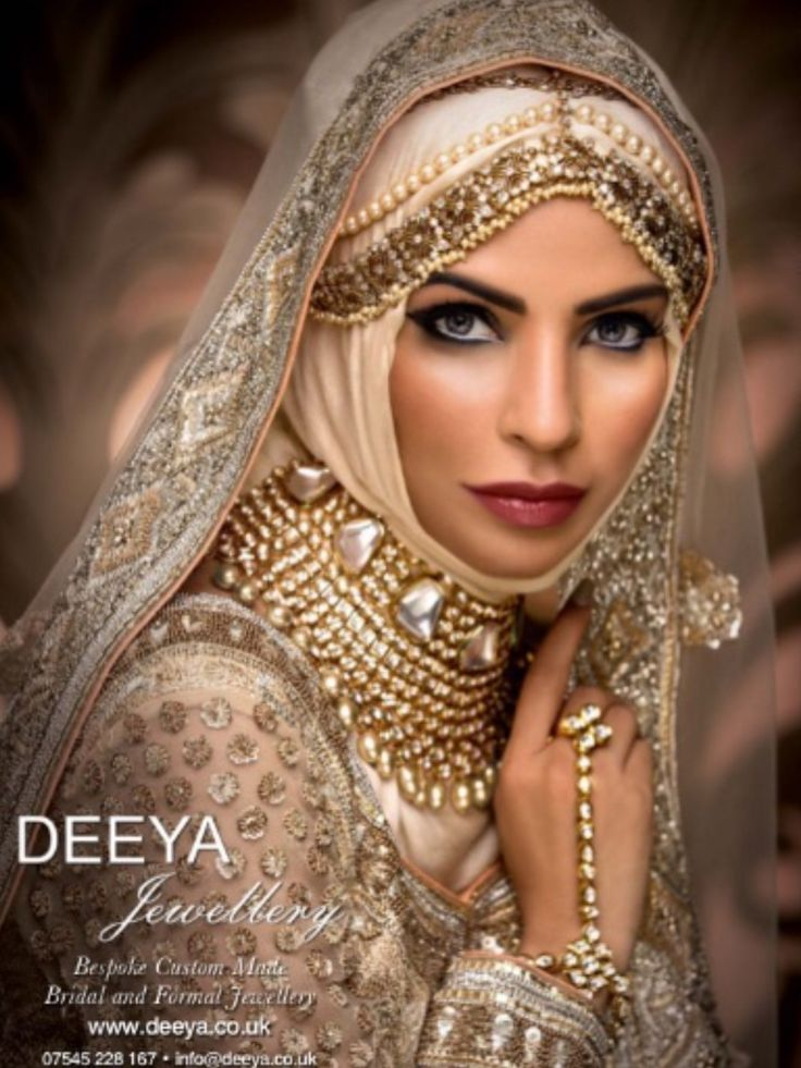 Hijab bridal collection featured in Asiana Magazine 2015. Resplendent and classical, this head regalia is reminiscent of a Bollywood bride. This piece was designed by Deeya for the Asiana cover shoot. It looks gorgeous worn at a wedding function or as part of a full bridal set or just on its own. Contact Deeya Jewellery by calling, Whatsapp or viber to purchase or enquire on 00447545228167. Contact Deeya Jewellery by calling, Whatsapp or viber to purchase or enquire on 00447545228167.