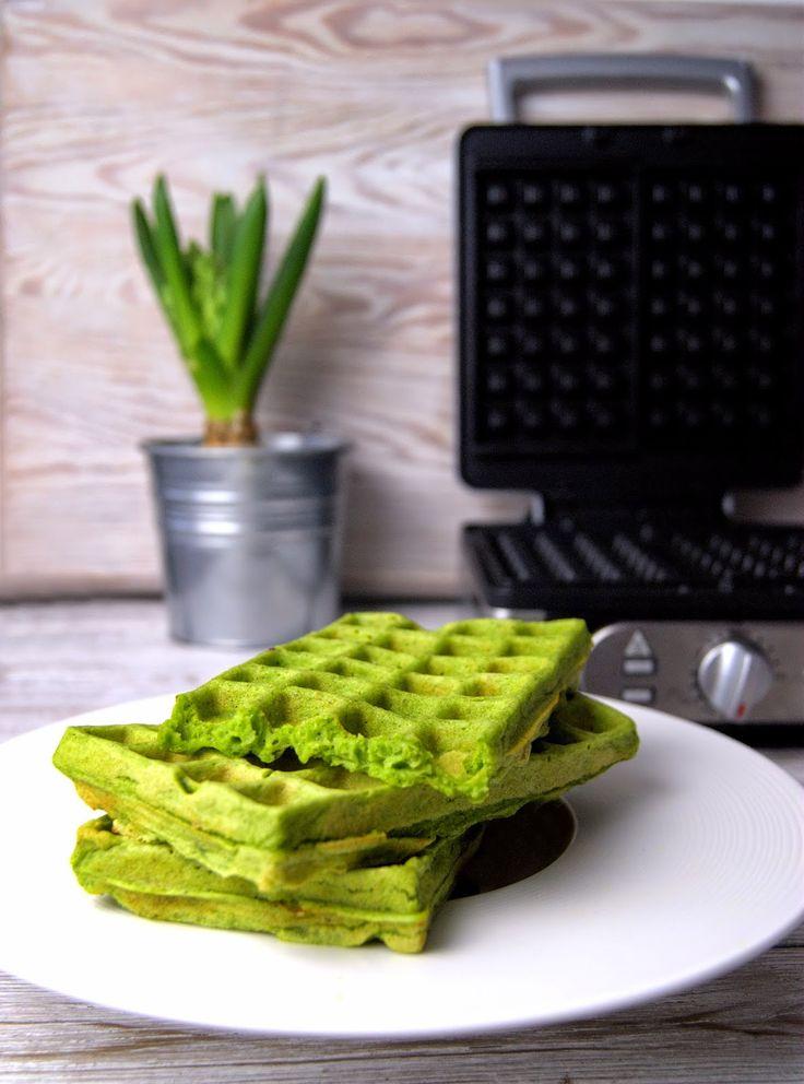 szczypta smaQ: Weekendowe śniadanie - nowe życie gofra