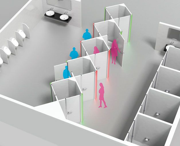 """Taiwanese students win design award for """"Gentolet"""" restrooms"""