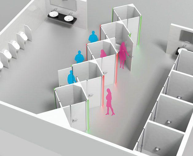 男も女も、おんなじトイレ。 国際的なプロダクトデザイン賞である「Red Dot Award 2014」の「best of best」に選ばれた、個室トイレのコンセプトデザイン「Gentolet」です