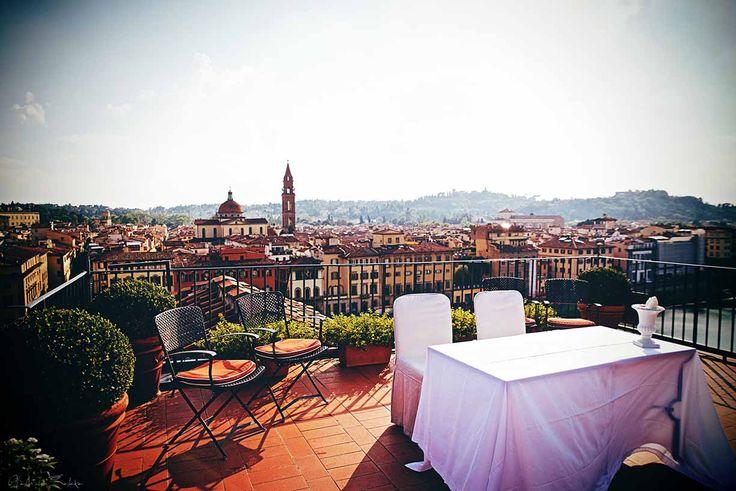 Hochzeitszeremonie in Florenz