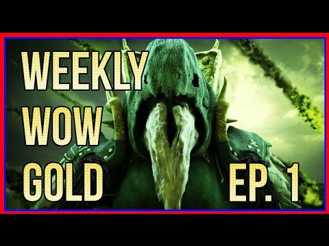 WWG Weekly WoW Gold - Episode 1 (World of Warcraft News) - Best sound on Amazon: http://www.amazon.com/dp/B015MQEF2K -  http://gaming.tronnixx.com/uncategorized/wwg-weekly-wow-gold-episode-1-world-of-warcraft-news/