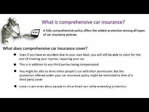Define Complete Car Insurance | Explained | - WATCH VIDEO HERE -> http://bestcar.solutions/define-complete-car-insurance-explained     It's a good idea to love full coverage if your car costs more than 1,500. Insurance usually insist on comprehensive insurance for expensive cars. Please visit: keyword: Compare car insurance, Car insurance compare, Compare auto insurance quotes, Business Insurance Auto insurance...