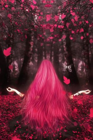 Download Free Pink Hairs Girl Autumn IPhone Wallpaper Mobile Contributed By Freyre