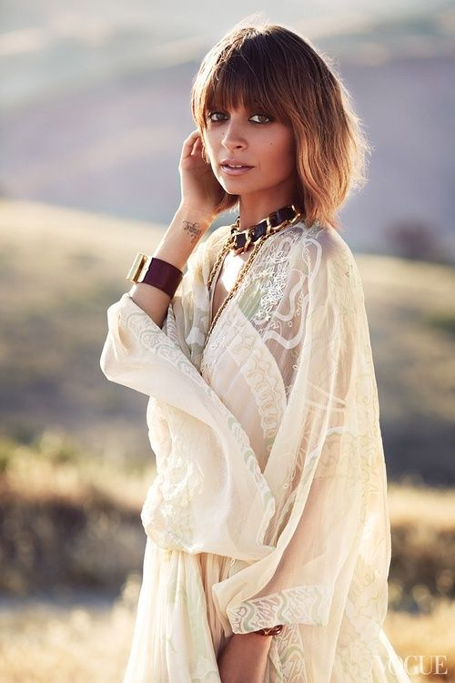 sallylyndleyswork:  Nicole Richie styled by me photographed by...