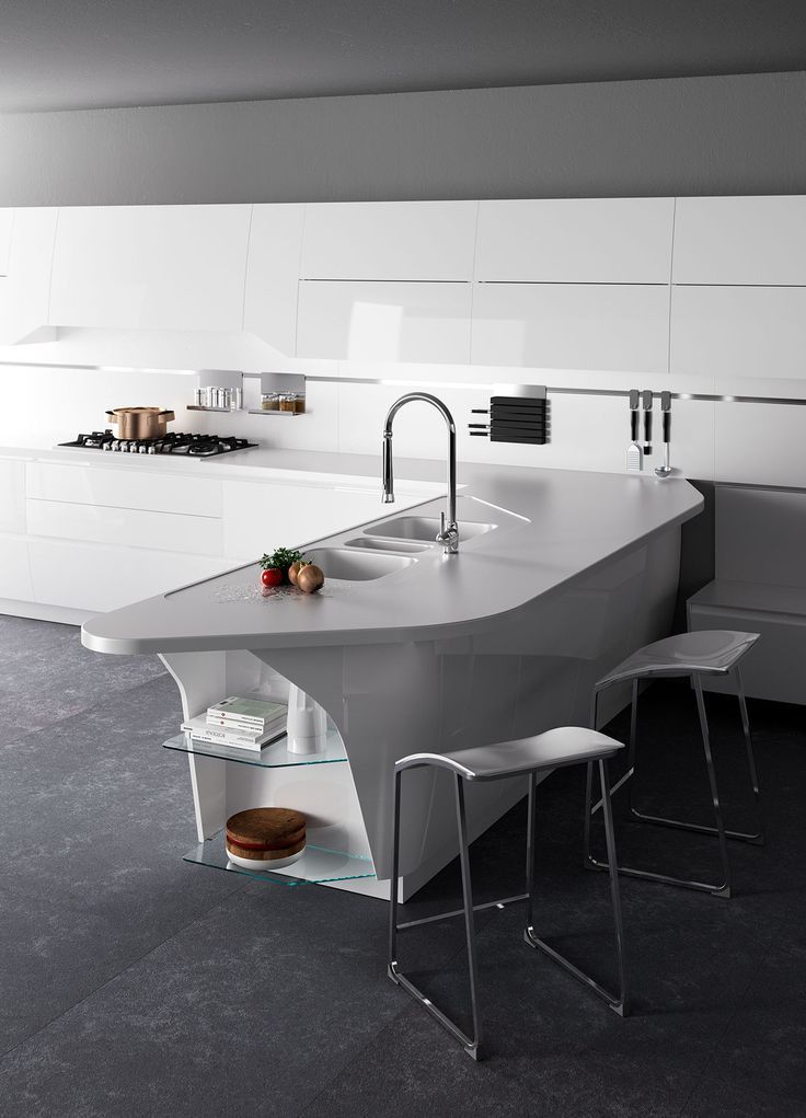 Kitchen 02 on Behance