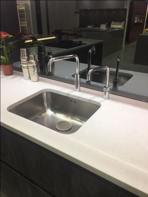 Quooker TwinTaps on display at KDCUK in Cheshunt.