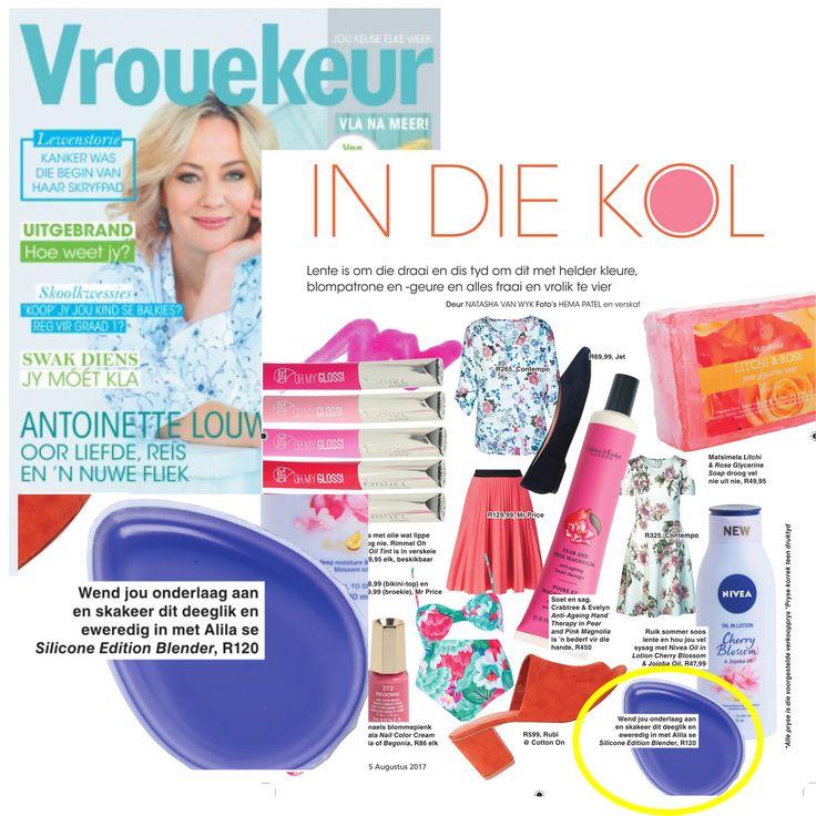 Alila featured in vrouekuer #beauty #beautytips #feature #magazine #beautyproducts