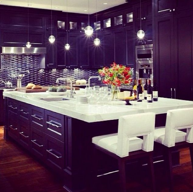 Kitchen Designs With Black Cabinets Prepossessing Perfect Design