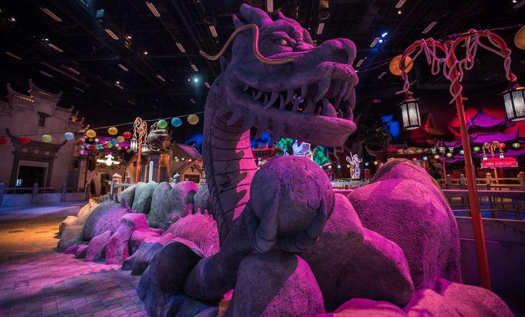 Kung Fu Panda Unstoppable Awesomeness Ride - motiongate, Dubai Parks & Resorts