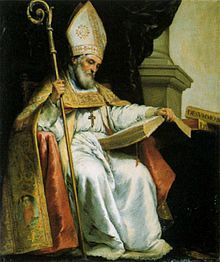 Saint Isidore of Seville - the patron saint of  the Internet, computer users, computer technicians, programmers, and students