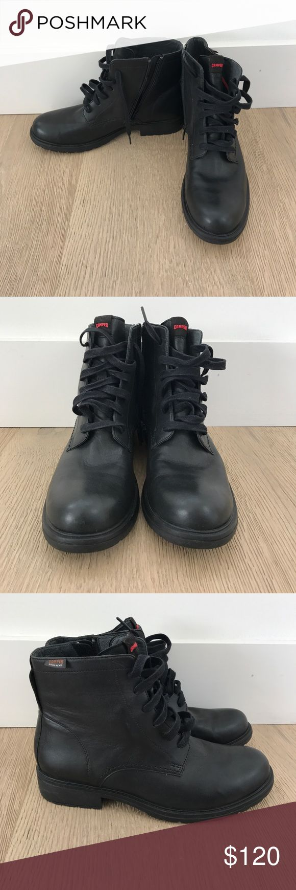 MOTHERS DAY SALE NWOT Camper Boots Gore Tex Camper boots, never worn, in perfect condition! Both hardy and fashionable, these boots are perfect whether you NEED boots or need () boots Camper Shoes Ankle Boots & Booties