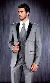 Resultado de imagen para traje gris oxford